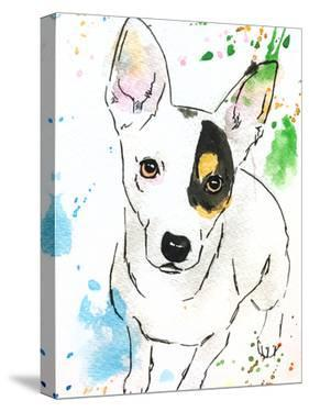 Pepper the Jack Russell by Allison Gray