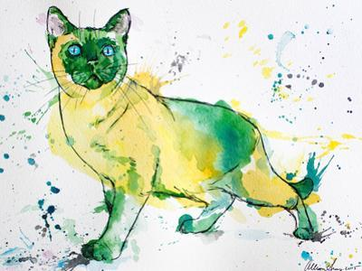 Siamese Cat by Allison Gray
