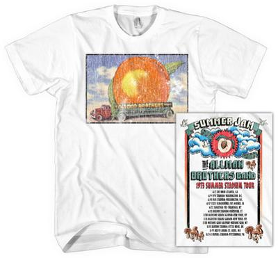 Allman Brothers Band - Distressed Eat A Peach