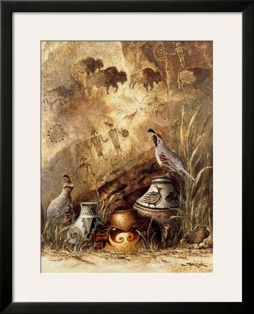 Pots and Quails by Alma Lee