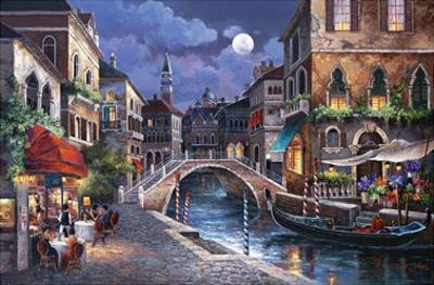 Streets of Venice II by Alma Lee