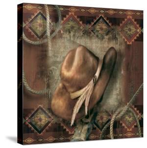 Western Cowboy Hat by Alma Lee
