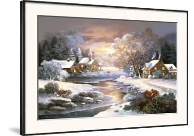 Winter Church by Alma Lee