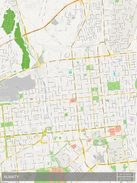 Almaty, Kazakhstan Map