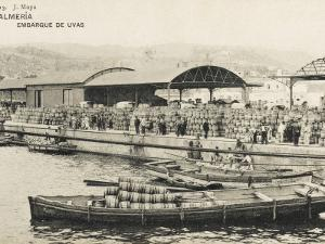 Almeria, Spain - Embarkation of Eggs in Barrels for Export
