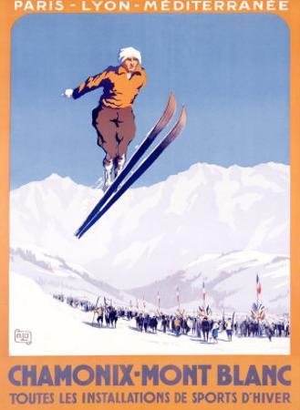 Chamonix, Mont-Blanc by Alo (Charles-Jean Hallo)