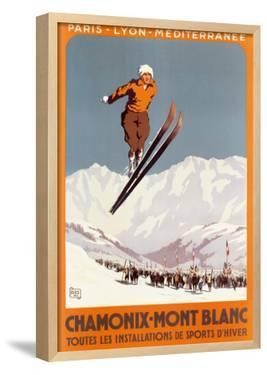 Chamonix, Mont Blanc by Alo (Charles-Jean Hallo)