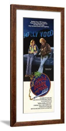 Aloha, Bobby and Rose--Framed Poster