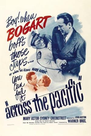 """Aloha Means Goodbye, 1942, """"Across the Pacific"""" Directed by John Huston"""