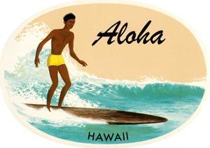 Aloha, Native Surfer