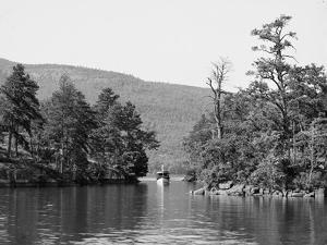 Along the Harbor Islands, Lake George, N.Y., C.1904