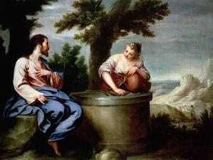 Jesus and the Samaritan Woman by Alonso Cano