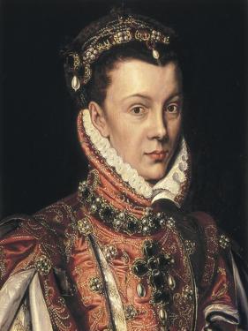 Elizabeth of Valois by Alonso Sanchez Coello