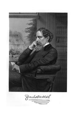 Charles Dickens by Alonzo Chappel