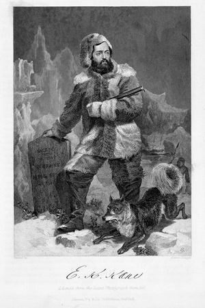 Elisha Kent Kane (1820-185), American Naval Surgeon and Arctic Explorer in Arctic Dress, 1862