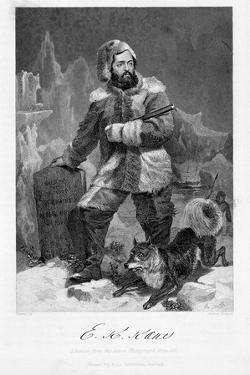 Elisha Kent Kane (1820-185), American Naval Surgeon and Arctic Explorer in Arctic Dress, 1862 by Alonzo Chappel