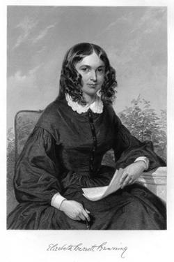 Elizabeth Barrett Browning by Alonzo Chappel