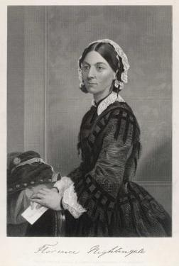 Florence Nightingale Nurse Hospital Reformer Philanthropist by Alonzo Chappel