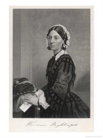 Florence Nightingale Nurse Hospital Reformer Philanthropist