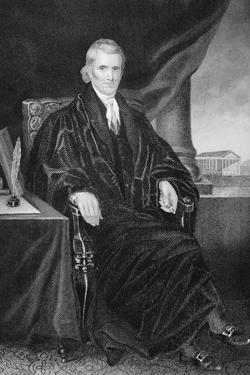 John Marshall (1755-1835) by Alonzo Chappel
