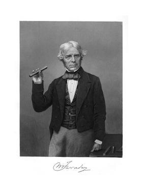 Michael Faraday by Alonzo Chappel
