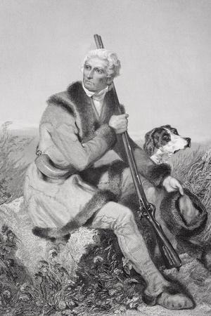 Portrait of Daniel Boone (1734-1820)