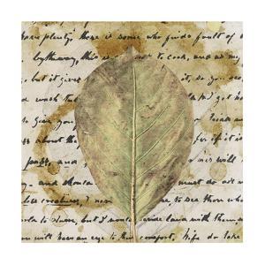 Earth Leaf II by Alonzo Saunders