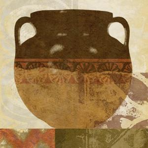 Ethnic Pot I by Alonzo Saunders