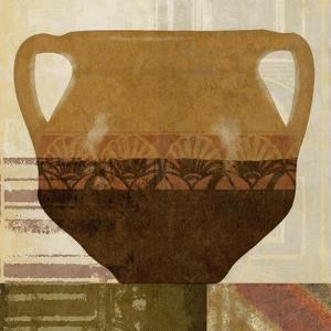 Ethnic Pot II by Alonzo Saunders