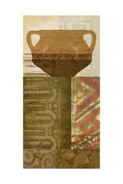 Ethnic Pot IV by Alonzo Saunders