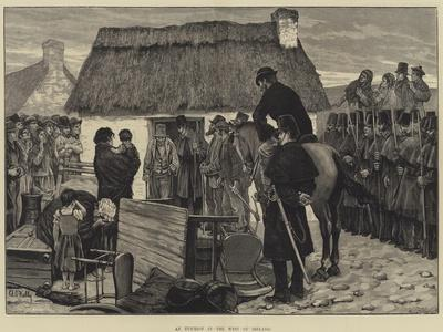 An Eviction in the West of Ireland