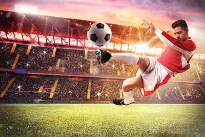 Football Game at the Stadium by alphaspirit