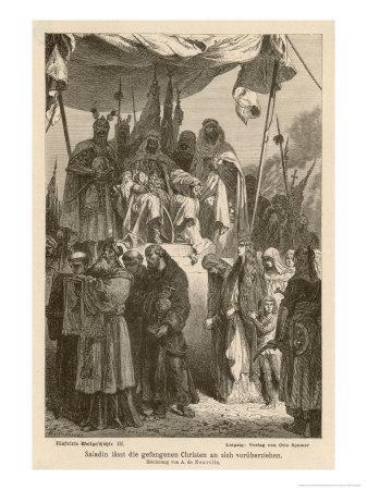 After Second Crusade Saladin