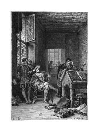 Robert Estienne by Alphonse De Neuville