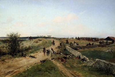 Scene from the Franco-Prussian War, 1870, 19th Century by Alphonse De Neuville