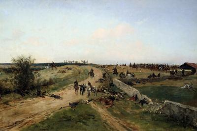 Scene from the Franco-Prussian War, 1870, 19th Century