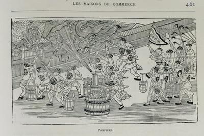 Firemen, Illustration from 'Grandeur and Supremacy of Peking'