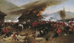The Defence of Rorke's Drift by Alphonse Marie de Neuville