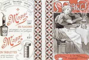 Advertisement for Maggi, late 19th century by Alphonse Mucha
