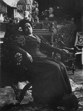Annah La Javanaise (B.1880) Mistress of Paul Gauguin (1848-1903) Rue De La Grande Chaumiere by Alphonse Mucha