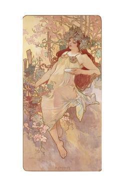 Autumn; Automne, C.1896 by Alphonse Mucha