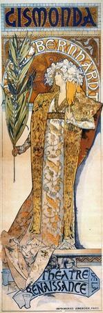 Bernhardt: Mucha Poster by Alphonse Mucha