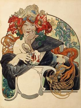 Biere De La Meuse by Alphonse Mucha