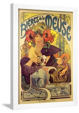 Bieres de la Meuse by Alphonse Mucha