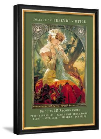Biscuits Lu Recommandes by Alphonse Mucha