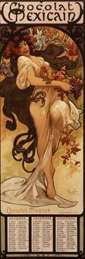 Chocolat Masson, 1897 by Alphonse Mucha