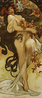 Chocolat Masson - Spring by Alphonse Mucha