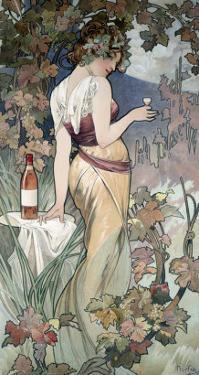 Cognac Template by Alphonse Mucha