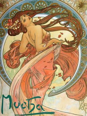 Dance (From the Series the Art), 1898 by Alphonse Mucha
