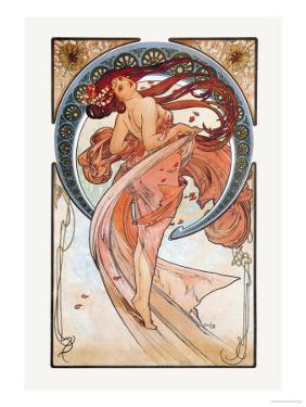 Dance by Alphonse Mucha